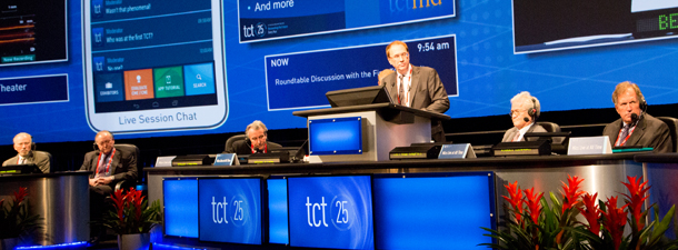 Cutting-Edge Clinical Research Presented at TCT 2013